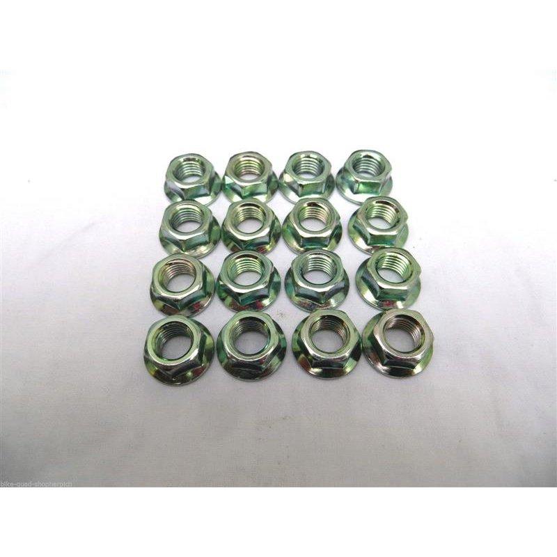 Flachbundmutter M10x1,25 Radmutter Radmuttern 16 Stück